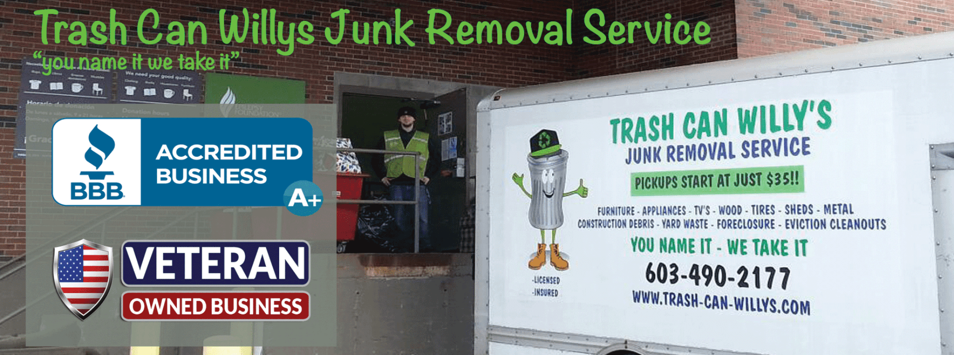 debris hauling junk removal whole house cleanout services ma nh
