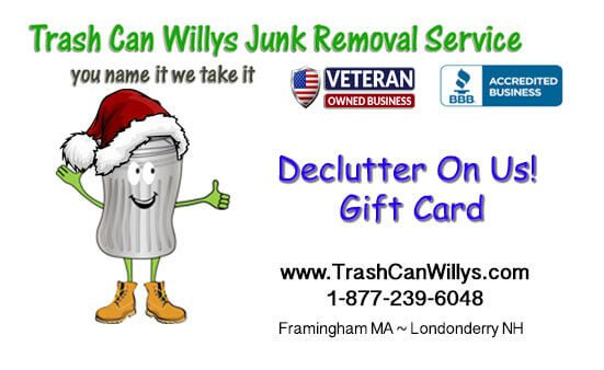 Junk Removal Gift Card
