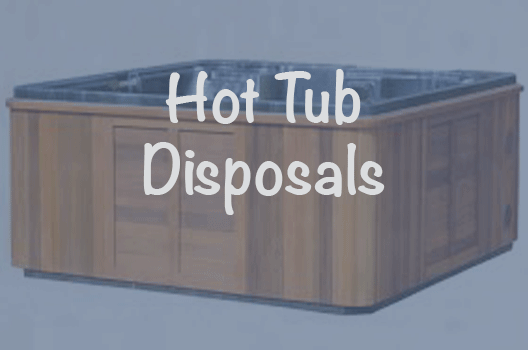 Hot tub disposal services explained