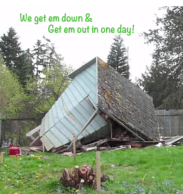 Shed and Garage Removal Services nh ma