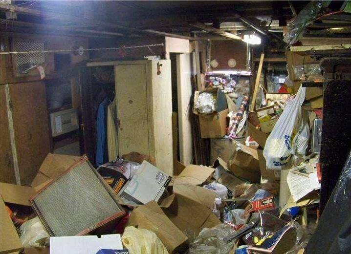 Basement cleanouts and basement junk removal services