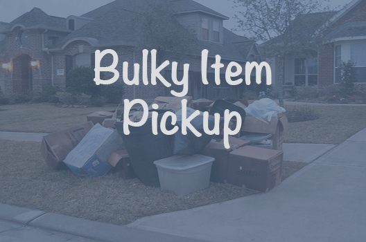 bulky item pickup and disposal services