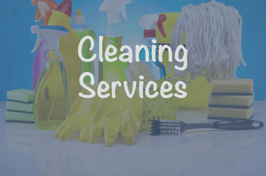 A link to our cleaning services page
