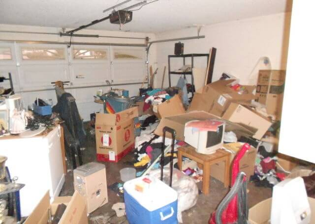 Garage junk removal and cleanout services