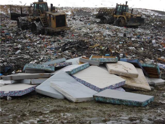 our mattress disposal service