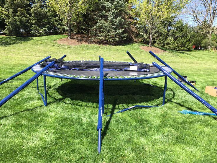 Trampoline removal and disposal services