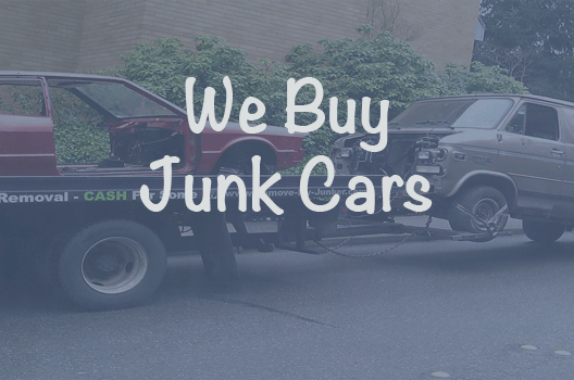 our junk car purchasing program