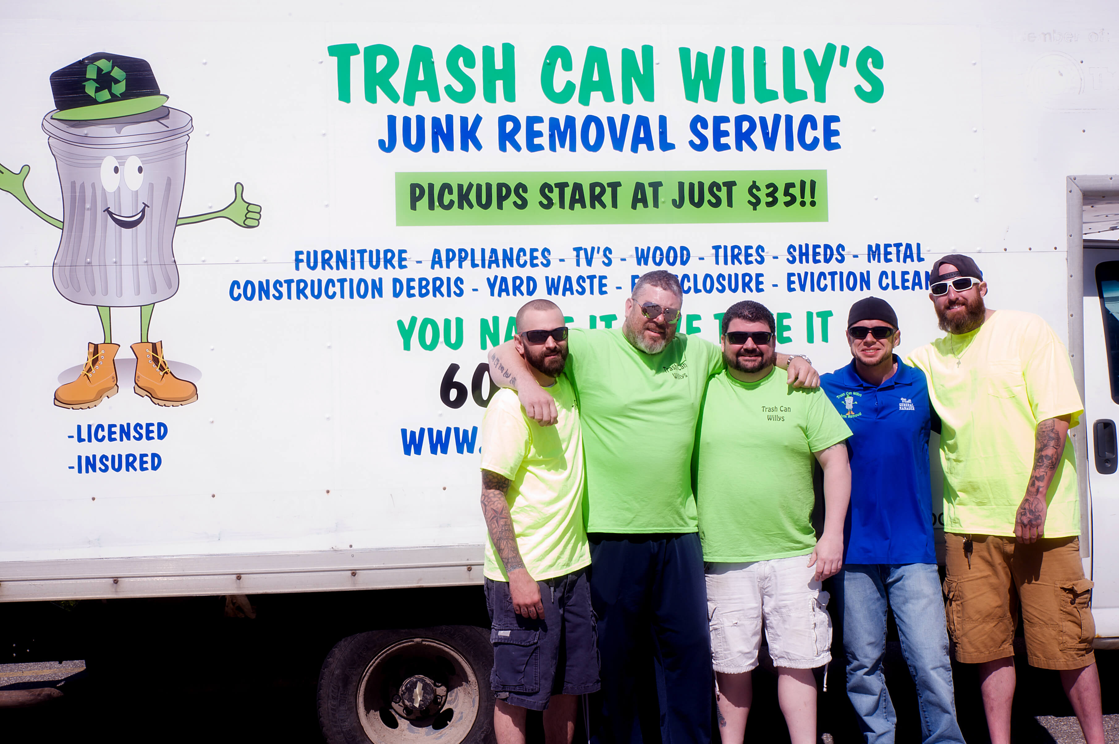A picture of our junk removal managers
