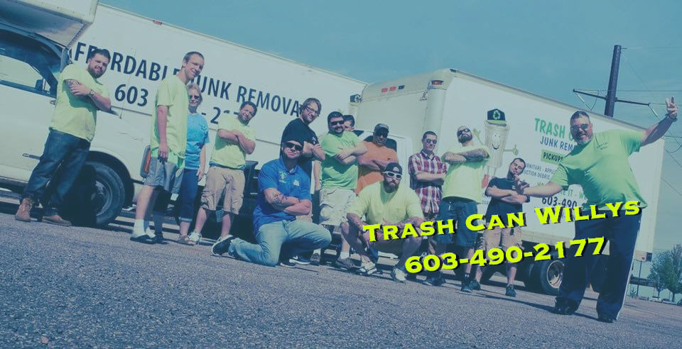 junk trash and debris removal in new hampshire