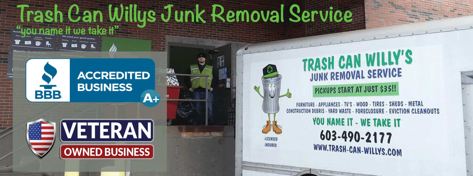 junk removal junk hauling new hampshire manchester exeter salem laconia