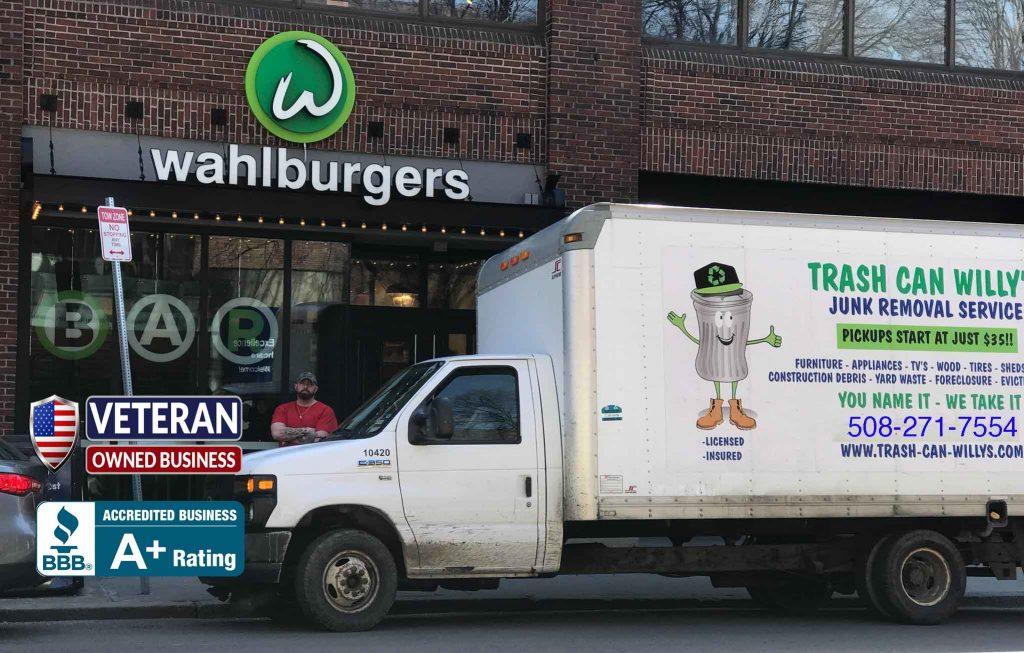 junk removal junk hauling framingham boston worcester junk removal