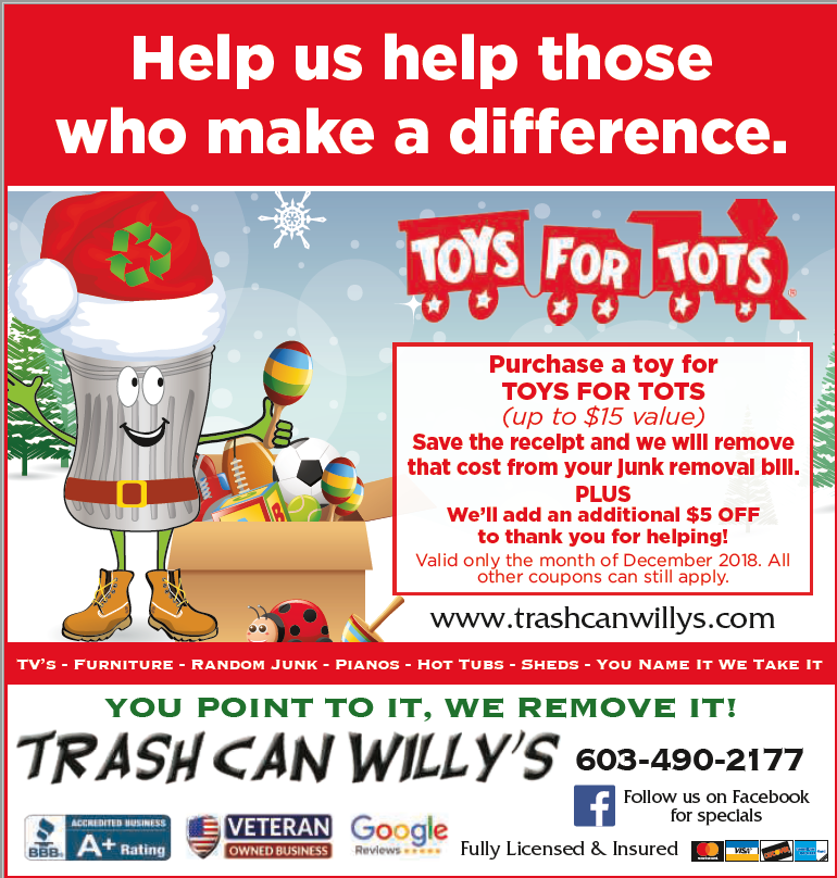 junk removal coupon discount holiday