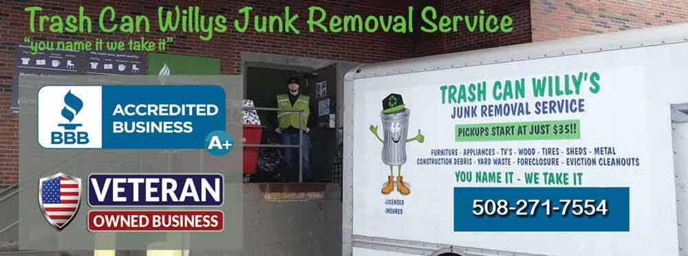 appliance removal construction waste removal donation pickup electronic waste removal furniture removal general junk removal house/garage cleanout yard waste removal