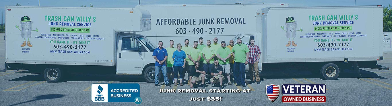 Junk Removal Garbage Dump Pickup Service dover nh